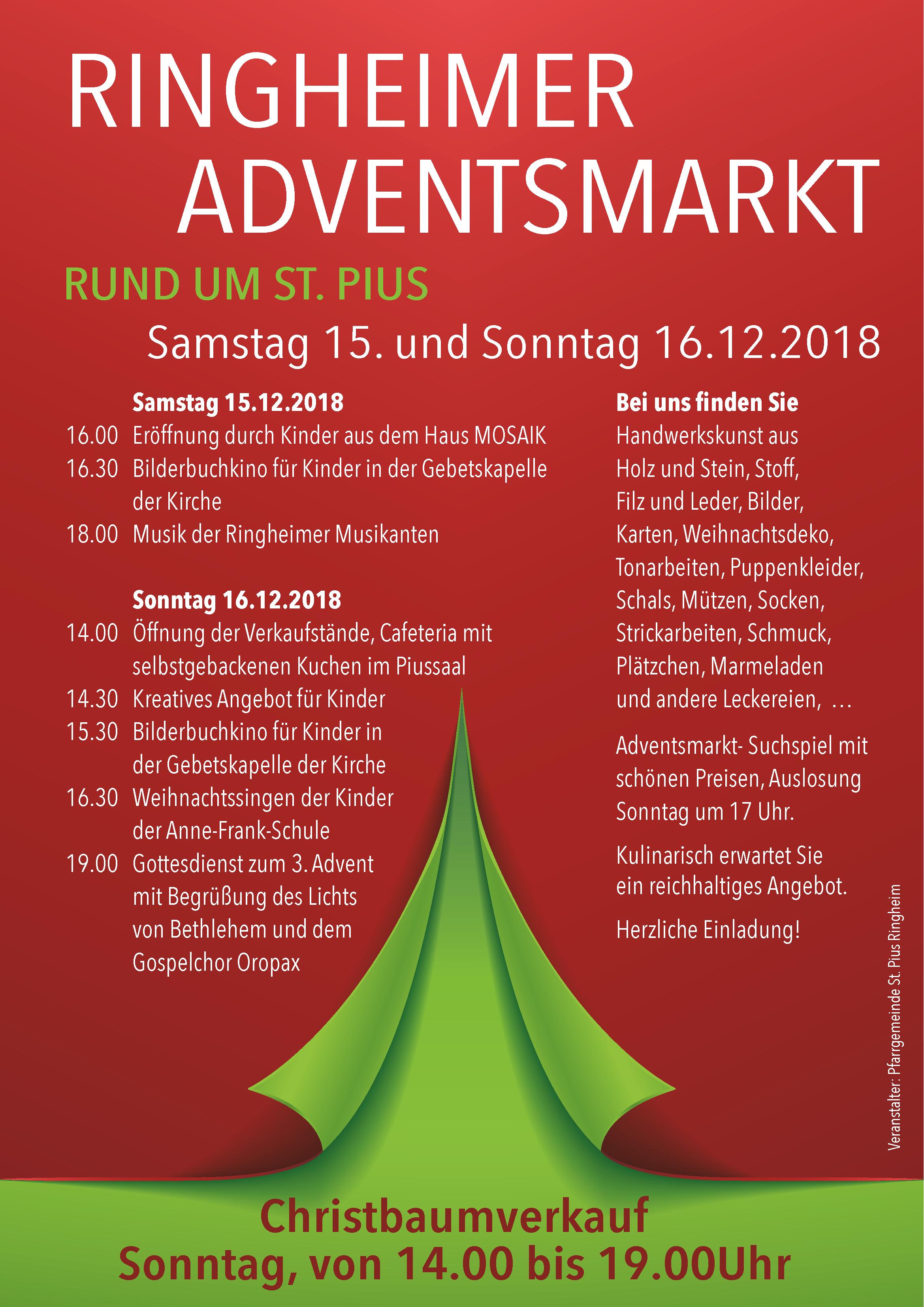 TSV Adventsmarkt 2018